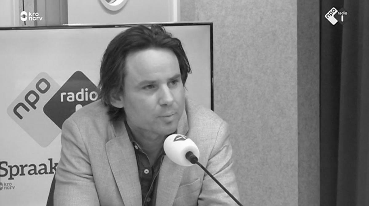Jan-Jesse Lieftink bij Radio 1 – Spraakmakers